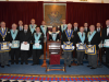 2015 - Left to Right: J S Hodgson, R H Columbine, G M Hudson, D J Wyite, G W Lee, J D Bonson, M A Smith, L Pemberton (WM Seated), J N Rossi, M L Smith, M J Aves, B J Eyre, M Heath, M A Hadfield, J S Hawes, T Parker-Jarvis
