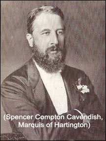 Spencer Compton Cavendish - Marquis of Hartington - Provinicial Grand Master of Derbyshire 1877