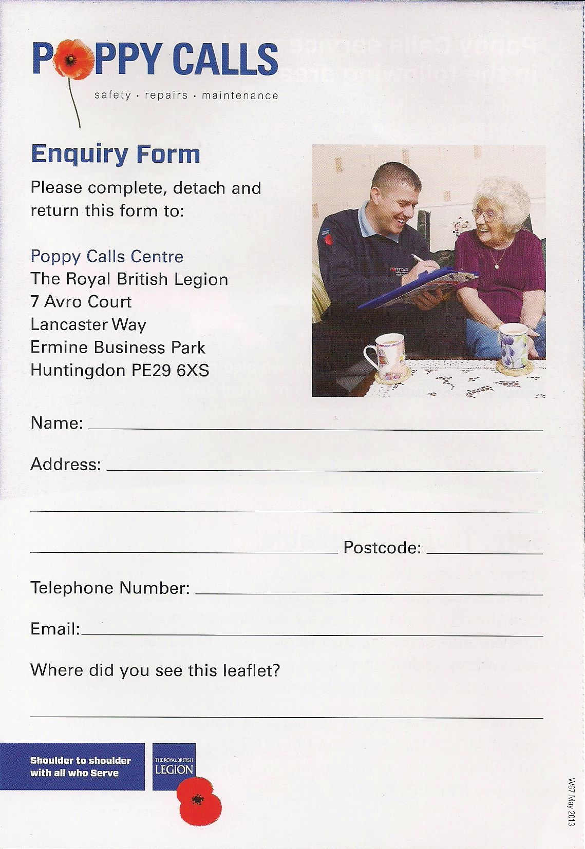 Royal British Legion Handyperson Service