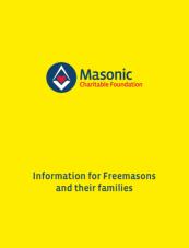 Masonic Charitable Foundation - Yellow Book