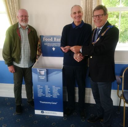 Scarsdale 681 Donation to Chesterfield Foodbank